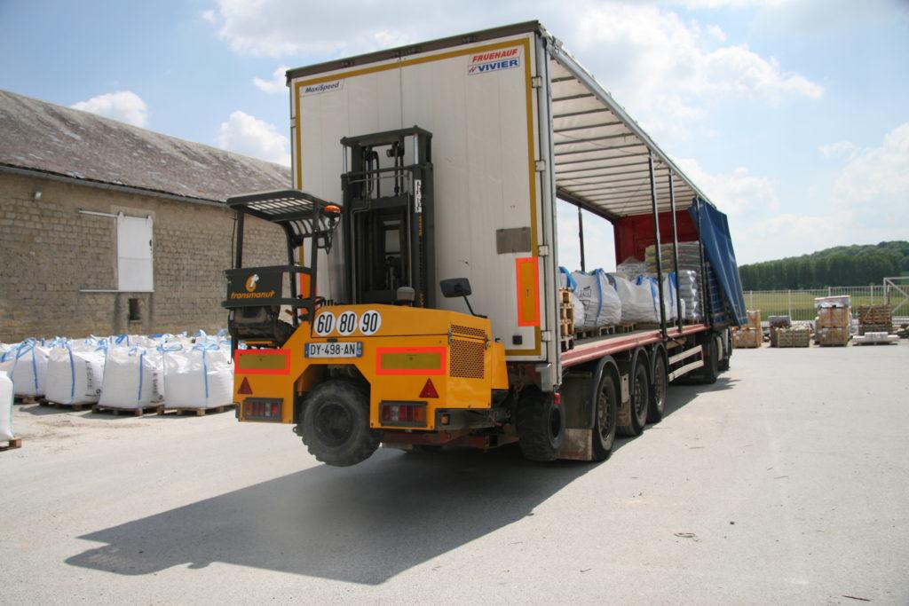 Service de livraison par camion