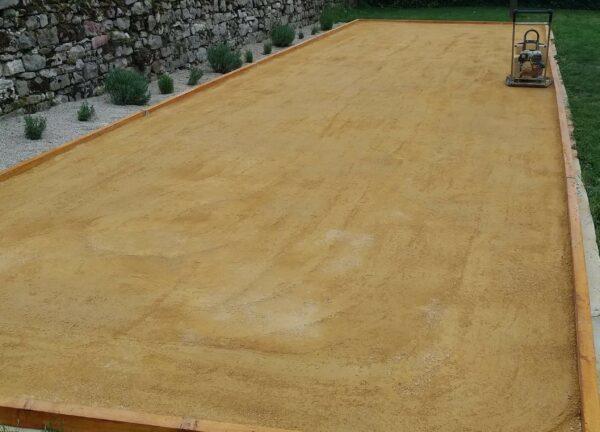 sable, jaune, pétanque, terrain, desmarest, terrain pétanque, soissons, compiegne, paris, reims