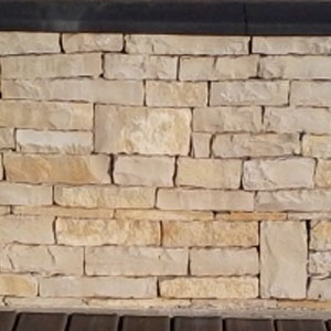 parement pierre naturelle barrette éclatée