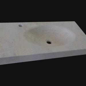 vasque en rondeur pierre de Bourgogne