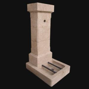 Condren - Fontaine de jardin en pierre de Bourgogne