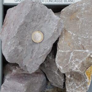 pierre a gabion grise