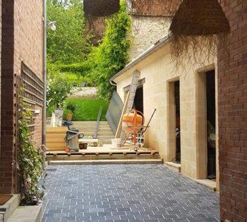 Terrasse, julie, réalisation
